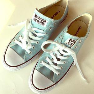 NEW CONVERSE blue green low sneaker 10m 12w 44EU